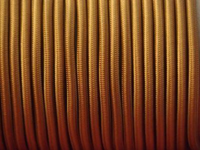 C ble lectrique tissu rond bronze - Cable electrique tissu ...
