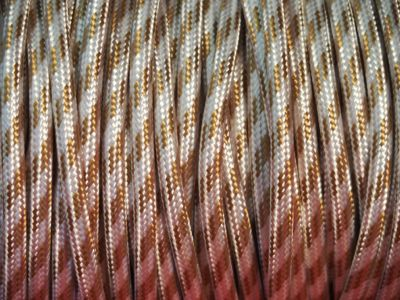 Cable electrique tissu type fer a repasser beige - Tissus a coller au fer a repasser ...