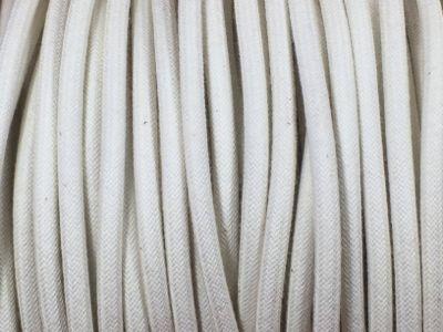 cable electrique coton blanc produits restauration de meubles. Black Bedroom Furniture Sets. Home Design Ideas