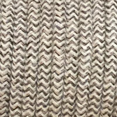 cable electrique tissu ficelle et marron