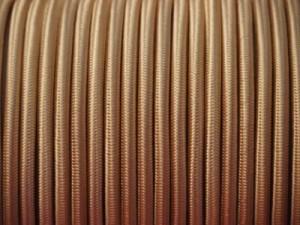 cable electrique fil electrique tissu vieil or. Black Bedroom Furniture Sets. Home Design Ideas
