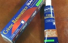 Maquiller une tache ou une griffe sur du cuir