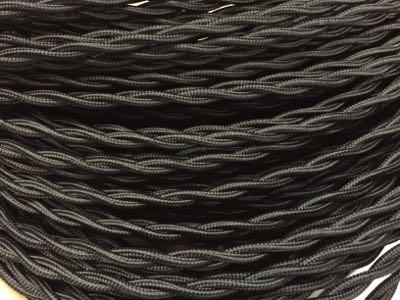 Fils ou c bles lectriques tissu torsad s - Cable electrique tissu ...