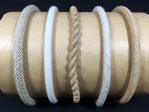 Cables electriques tissu naturels - Cacher des fils electriques ...