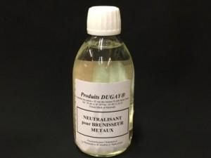 neutralisant pour brunisseurs métaux