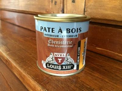 pâte à bois Louis XIII