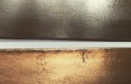 Patine cuivre sur fer cuivrage du fer