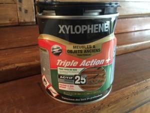 Produits contre les termites vrillettes traiter un bois - Xylophene meuble ...