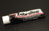 Zébraline crème ferronnerie noire.