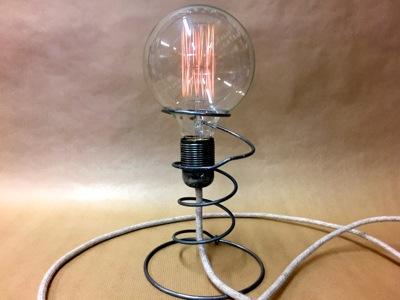 Ampoule vintage ressort
