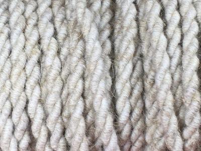 Câble électrique tissu torsadé lin.