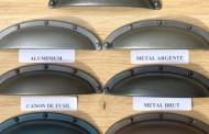Peinture aspect métal