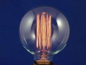 Ampoule décorative sphère Edison