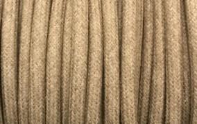 Câble électrique coton mastic