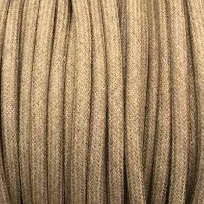 câble electrique coton mastic