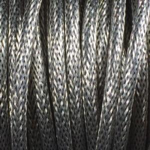 Câble électrique gainé acier