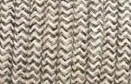 Câble électrique tissu bicolore beige marron