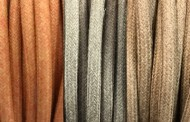 Câbles électriques tissu pastel coton
