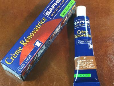 creme renovatrice pour cuir