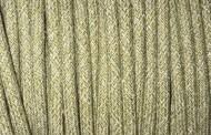 Fil électrique tissu pastel vert et beige