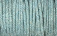 Fil électrique tissu pastel bleu et beige