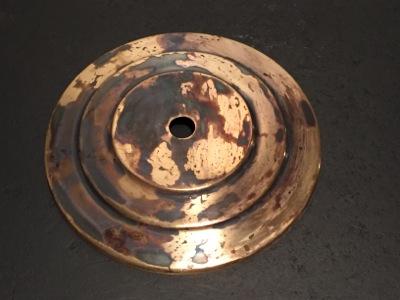 Mauvaise application patine laiton produits restauration for Comment nettoyer le cuivre jaune