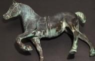 Patine verte sur cuivre, laiton, bronze