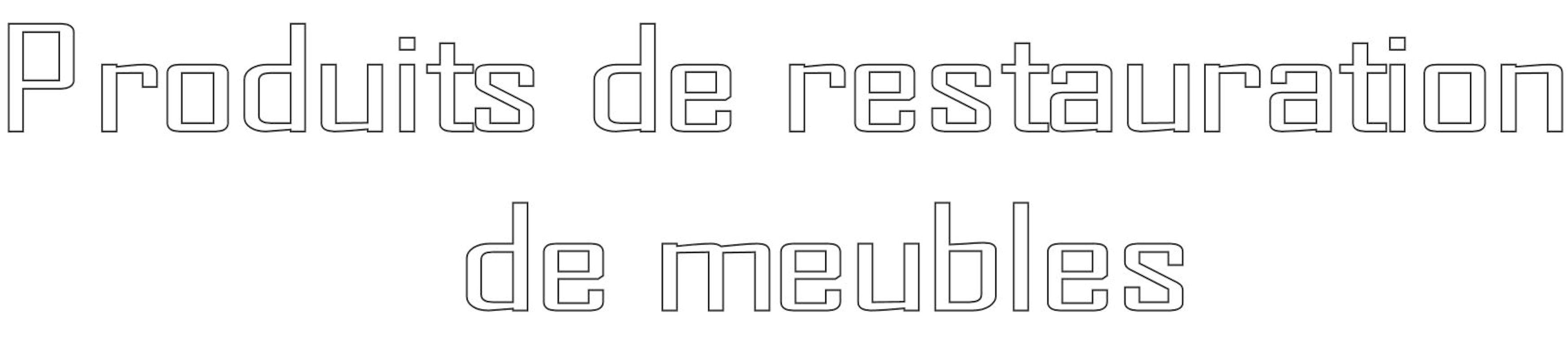 Produits Restauration de Meubles