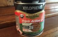 Xylophène, produit contre les termites.
